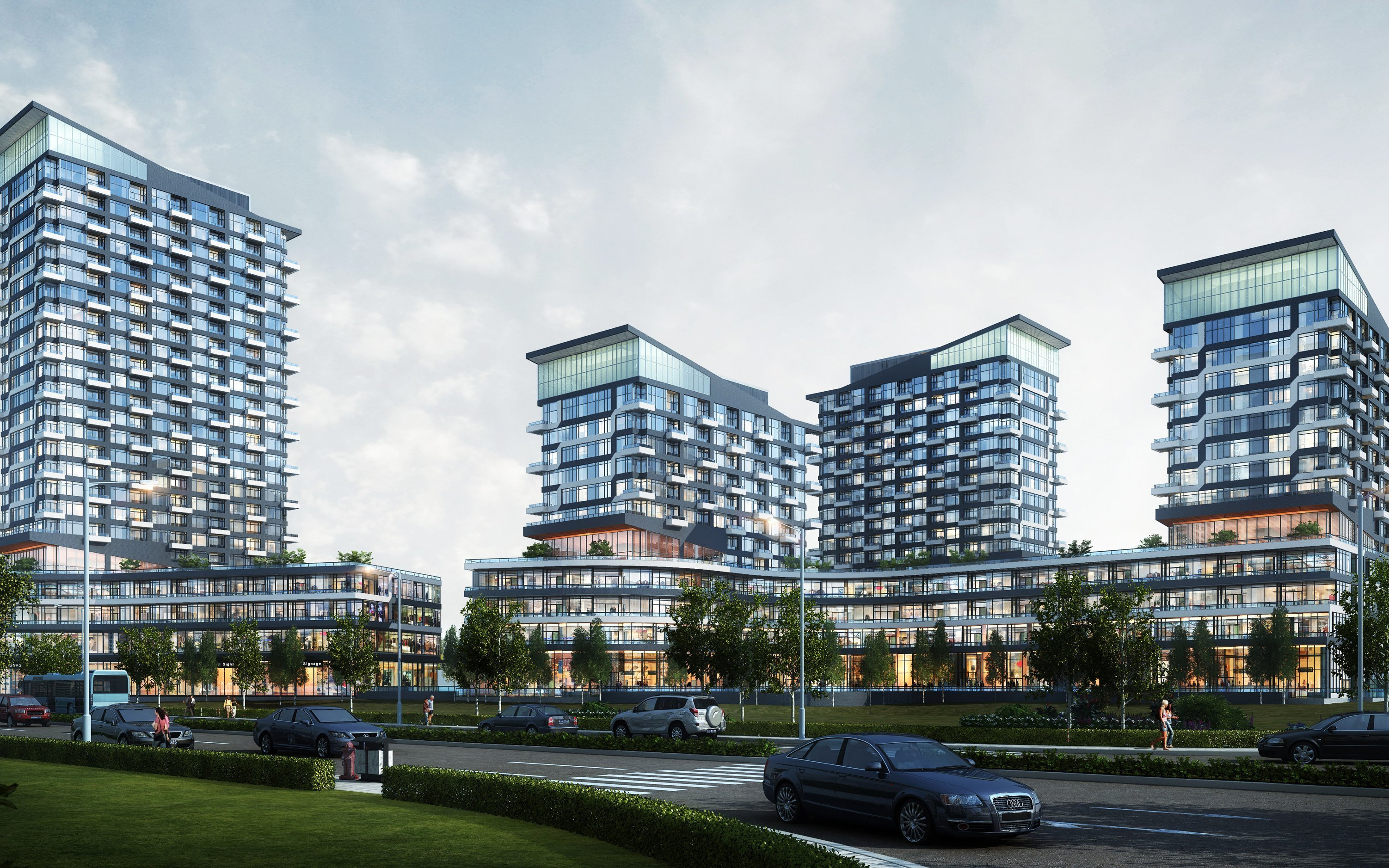 Luxury Oakville Ontario Condos at Oak & Co