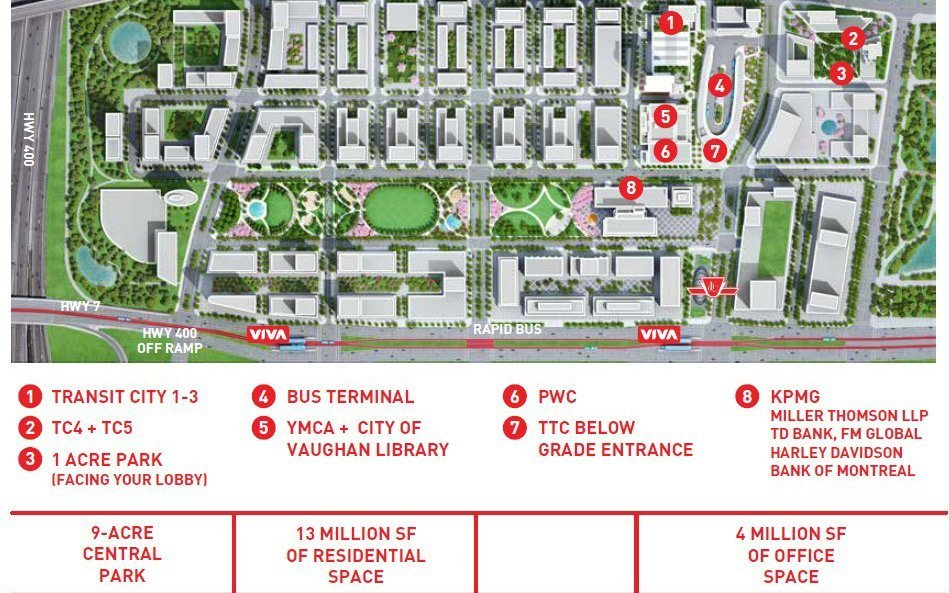 the Transit City master-planned community