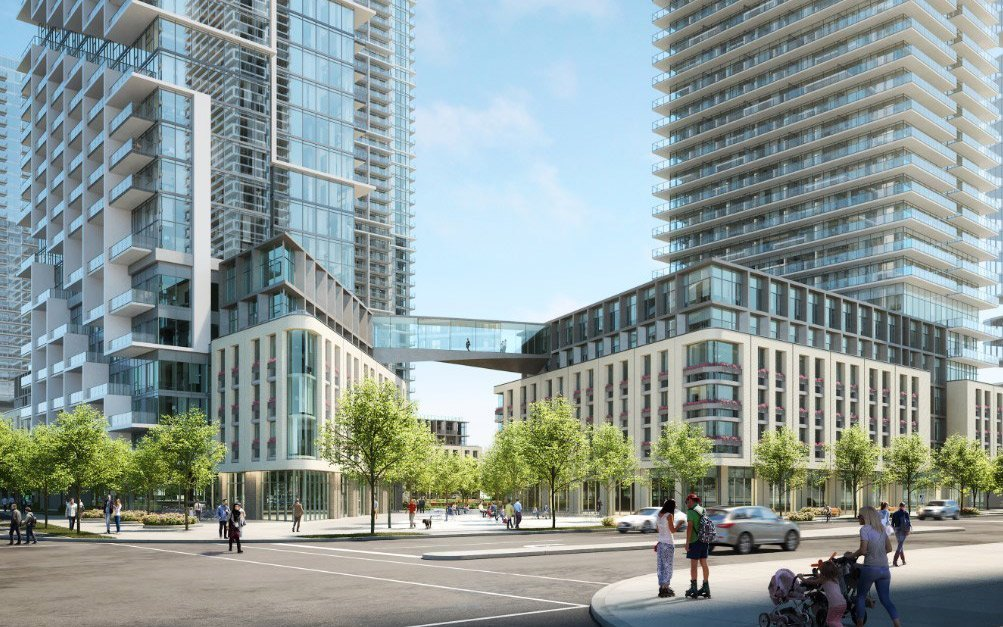 """Affordable residences to the in-demand area along the """"newish"""" Vaughan subway line"""