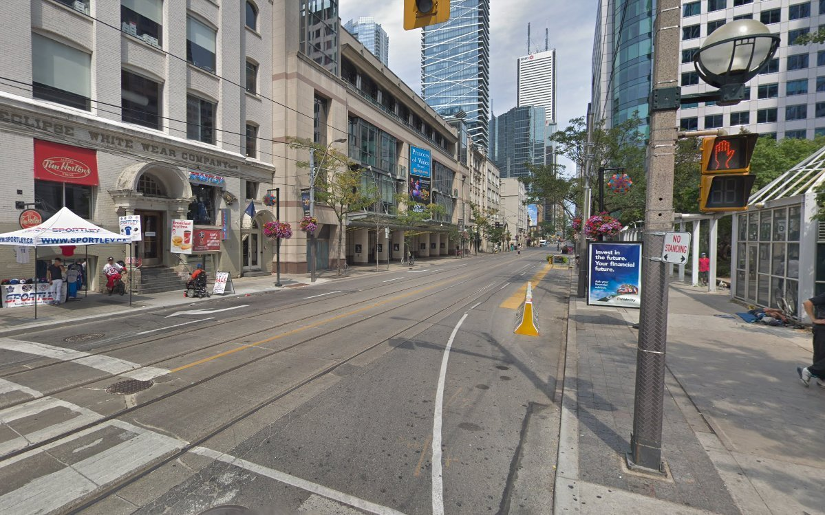 The site at 260 - 322 King Street West